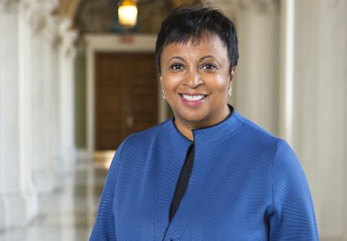 Librarian of Congress Carla Hayden (Photo by Shawn Miller)