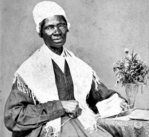 An 1864 photo of Sojourner Truth