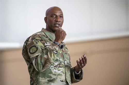 Air Force Chief Master Sgt. Kaleth Wright (military.com)