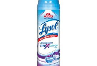Photo of Lysol Products for Non-Porous Surfaces Approved for Use Against Coronavirus
