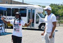 Photo of Clergy Lead Peace March Honoring Legacies of Lewis and Vivian