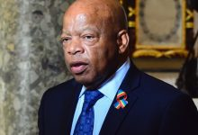 Photo of Congressman John Lewis, Last Surviving Speaker from 1963 March on Washington, dies at 80
