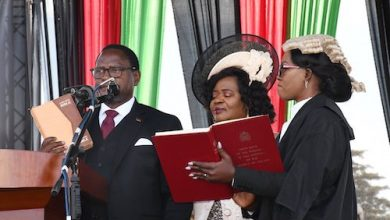 Photo of Chakwera Sworn In as Malawi President