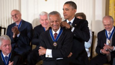 Photo of Rev. C.T. Vivian, Civil Rights Icon, Dies at 95