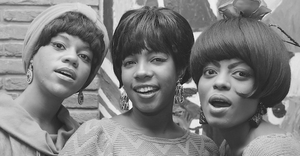 From left: Florence Ballard, Mary Wilson and Diana Ross of the Supremes (Wikimedia Commons)