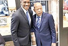 Photo of EDITORIAL: Michael Collins, the Man Beside Rep. John Lewis