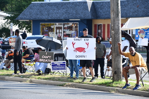 Local patrons of The Fish Market say they have had enough of racist remarks and disrespect from the restaurant's owners. (Anthony Tilghman/The Washington Informer)