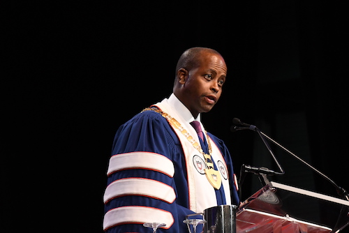 Photo of HU President Addresses Fall Reopening Plan