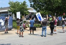Photo of Protesters Decry Construction on Hallowed African Burial Site