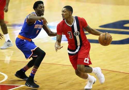 Washington Wizards star guard Bradley Beal will not play the rest of the 2020 NBA season when it resumes on July 31. (Daniel Kucin Jr./The Washington Informer)