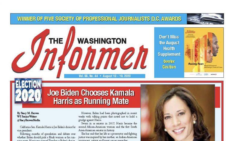 Photo of 8-13-2020 Informer Edition