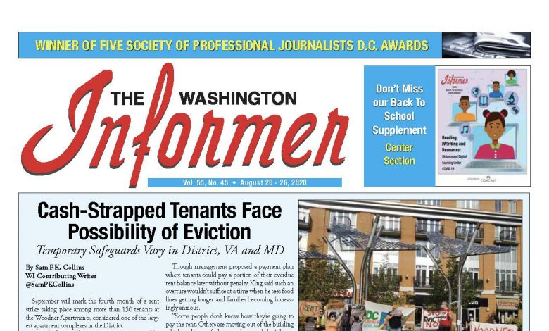 Photo of 8-20-2020 Informer Edition