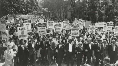 Photo of Rev. Walter Fauntroy's Key Role in 1963 March on Washington Detailed by His Son