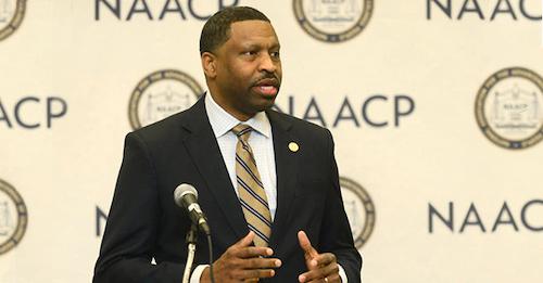 NAACP President Derrick Johnson (File photo)
