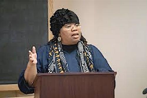 Valethia Watkins, director of Women Studies Graduate Certificate Program and associate professor of Africana Studies in the Department of Afro-American Studies at Howard University. (Courtesy of Howard University)