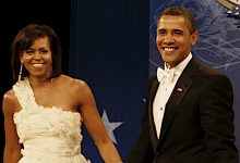 **FILE** Barack and Michelle Obama (Wikimedia Commons)