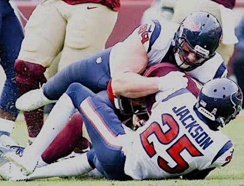 Washington Football Team quarterback Alex Smith looks to come back from an injury that nearly cost him his life. (Daniel Kucin Jr./The Washington Informer)