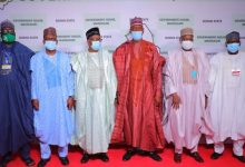 Photo of Governors Urge Buhari for Support in Fighting Terrorists