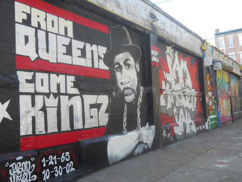 **FILE** A mural of Jam Master Jay at 5 Pointz in Long Island City, Queens, New York City (Youngking11 via Wikimedia Commons)
