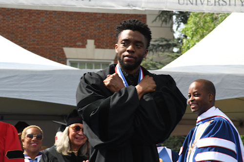 Actor Chadwick Boseman succumbed to colon cancer in August. (WI file photo)