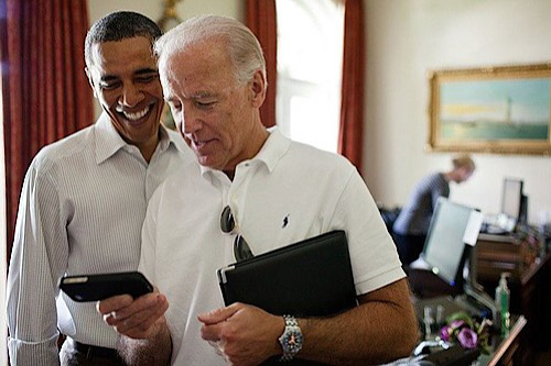 **FILE** Joe Biden with former President Barack Obama (Courtesy of Baltimore Times)