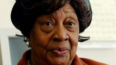 Photo of Florence Pendleton, D.C. Statehood Advocate and First Shadow Senator, Dies