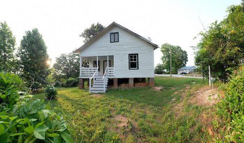 Nina Simone's childhood home in Tryon, N.C. (Courtesy of Nancy Pierce/National Trust for Historic Preservation)