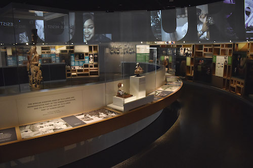 A panoramic view of an exhibit in the Smithsonian's National Museum of African American History and Culture (Robert R. Roberts/The Washington Informer)