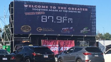 Photo of Worship Becomes a Drive-In Experience