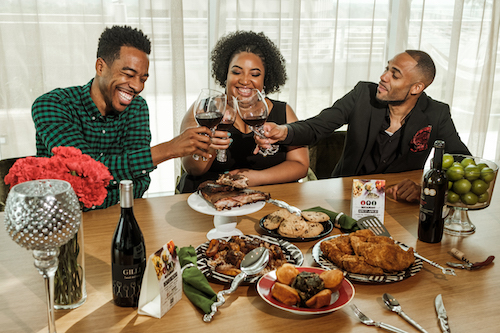 **FILE** From left: Derek Robinson, Falayn Ferrell and Warren Luckett, founders of Black Restaurant Week (Courtesy of blackrestaurantweeks.com)