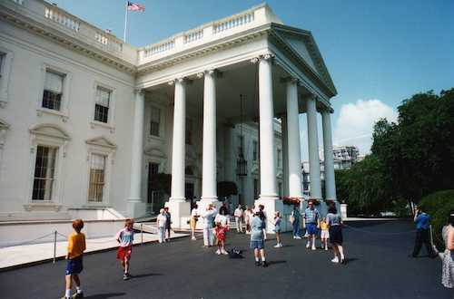 **FILE** The White House (Courtesy of Wikimedia Commons)