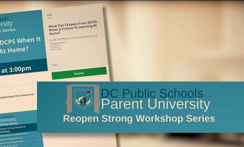 DCPS Parent University is a workshop series facilitated by the Office of Communications and Engagement. (DCPS photo)