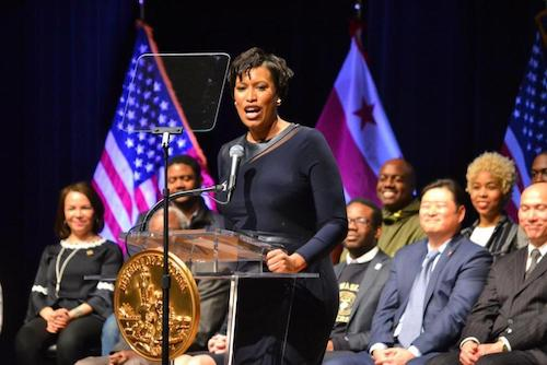 """""""Our cities, and the millions of Americans we represent, are not President Trump's political pawns,"""" says D.C. Mayor Muriel Bowser."""" (WI file photo)"""