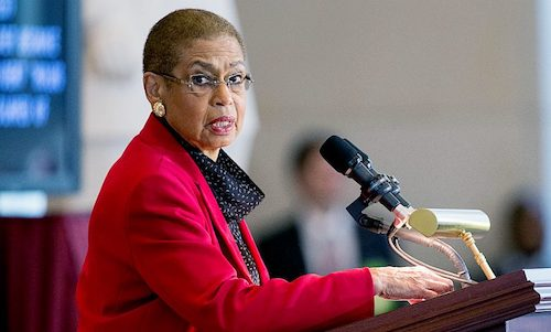 """Trump is not a king,"" says D.C. Delegate Eleanor Holmes Norton. (WI file photo)"