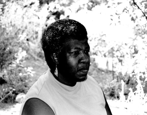 Photo of Octavia E. Butler taken by the author's mother, Octavia M. Butler. Undated. Anacostia Community Museum Collection, Smithsonian Institution.