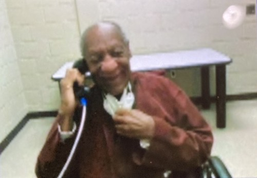 Bill Cosby at SCI-Phoenix Prison in Pennsylvania (Courtesy of Andrew Wyatt/Purpose PR)