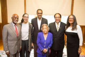 Staff members and supporters of the Thurgood Marshall Center (Courtesy of TMCT)
