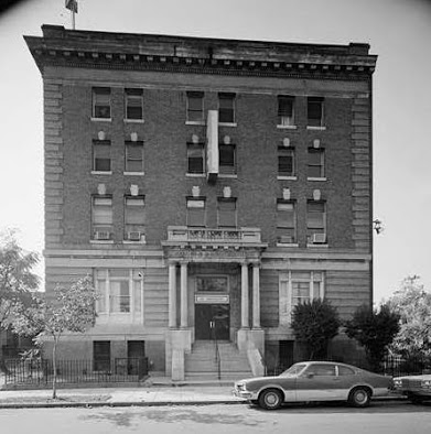 A decades-old photograph of the former YMCA building now known as the Thurgood Marshall Center (Courtesy of TMCT)