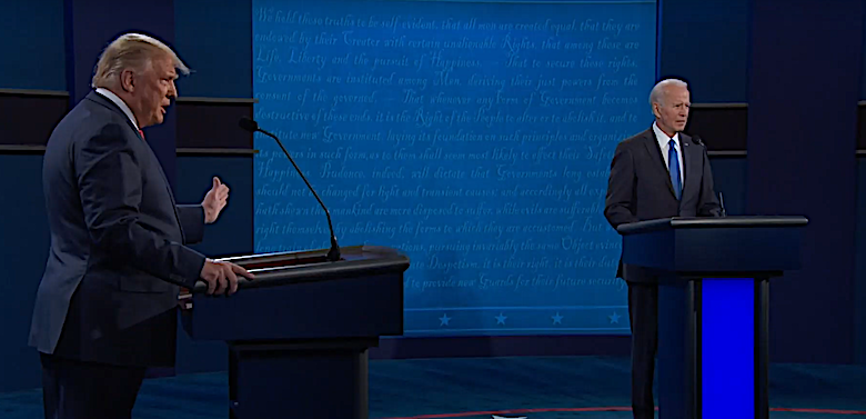 Photo of Trump, Biden Spar over COVID-19, Obamacare in Final Debate Before Election Day
