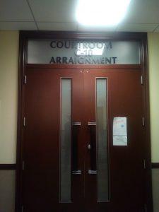 Room C-10 of District Superior Court (Sam P.K. Collins/The Washington Informer)