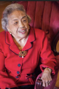 Cecilia Marshall, the wife of the late Justice Thurgood Marshall (Courtesy of TMCT)