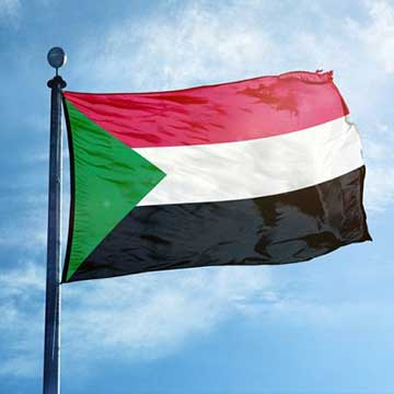 The flag of Sudan is shown here. (Courtesy of au.int)