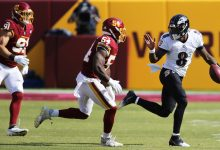 Photo of Jackson, Ravens Dismantle Washington