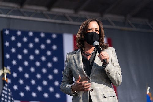 **FILE** Democratic vice presidential nominee Kamala Harris (Courtesy photo)