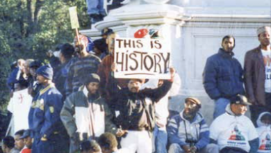 Photo of Black Brothers from the DMV Remember 1995: 'We Were Part of History'