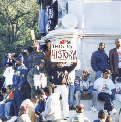 A historic gathering of proud, Black men (Robert R. Roberts/The Washington Informer)