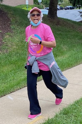 Serena Hultz, 61, is a double-negative breast cancer survivor from Maryland. (Courtesy photo)