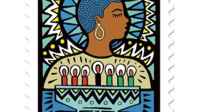 Photo of USPS Releases New Kwanzaa Stamp