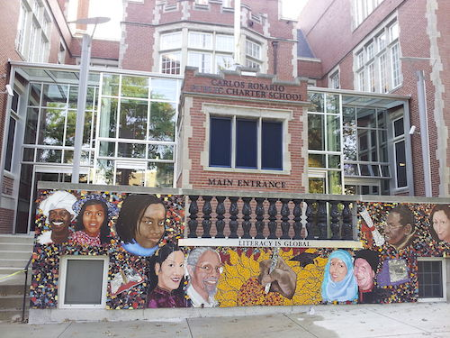 The Carlos Rosario International Public Charter School on Harvard Street NW (Courtesy photo)