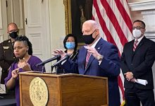 Photo of Gov. Hogan Urges Marylanders to 'Wear the Damn Mask' as State's Coronavirus Cases Spike